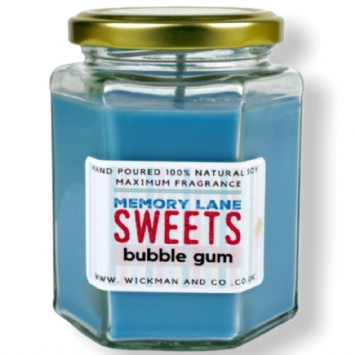 Memory Lane Sweets - Bubble Gum Soy Wax Candle